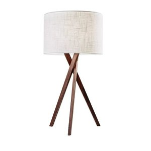 "Westerville 26"" Tripod Table Lamp White"