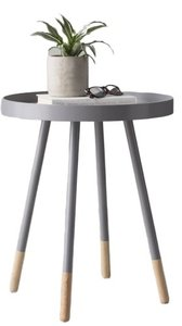 Acevedo Tray Table Frost Gray