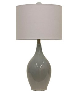 """Purcellville 27"""" Table Lamp Cool Gray"""