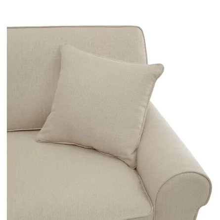 Buxton Rolled Arm Loveseat Beige