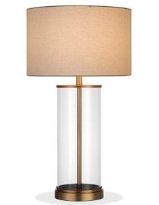 """Kemmer 28"""" Table Lamp Antique Brass"""