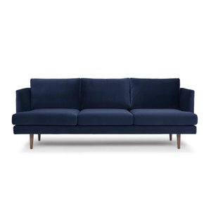 Celia Sofa Stax Dark Blue