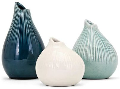 Preston Table Vase Multicolor (Set of 3)