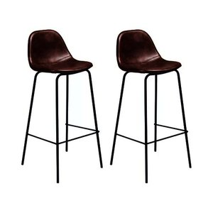 Connor Bar Stool Tobacco (Set Of 2)