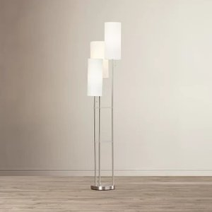 Jakayla Floor Lamp White