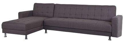 Jacto Sectional Sleeper Sofa Gray