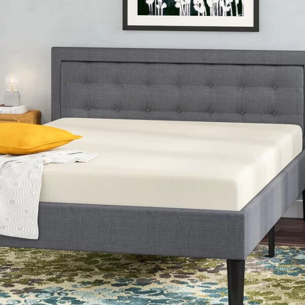 Memory Foam Twin Mattress White
