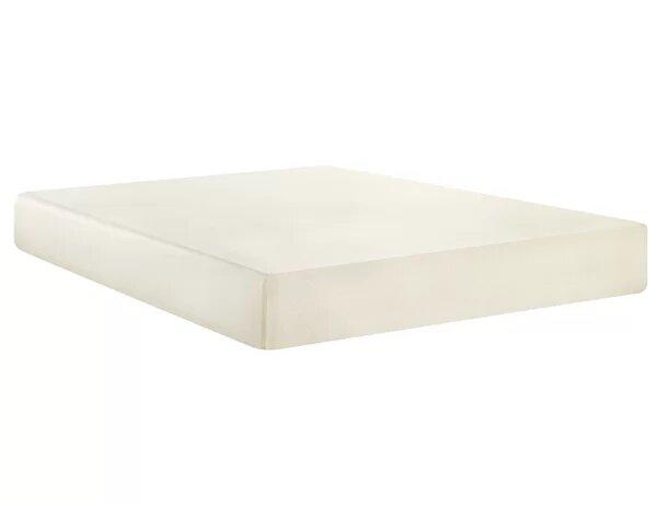 Memory Foam Twin Mattress White