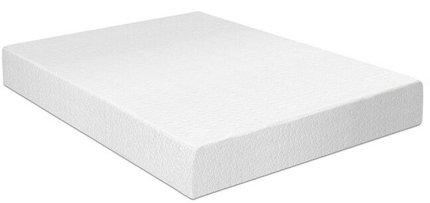 """Memory Foam Firm Queen Mattress 10"""" White"""