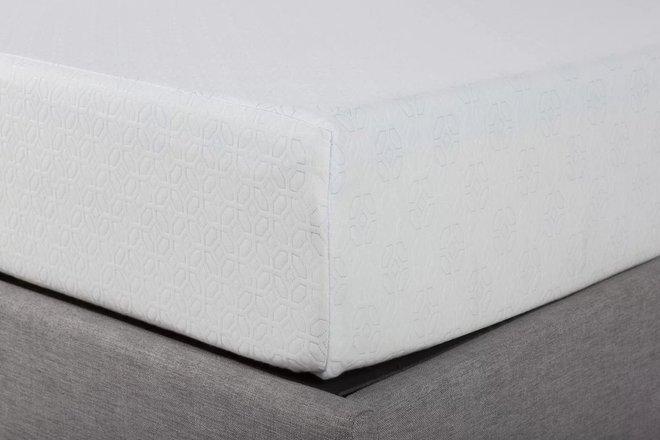 "Sleep Memory Foam King Mattress 12"" White"