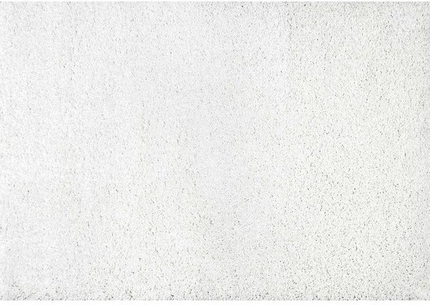 Leste White Shag Area Rug