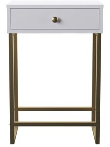 Dayne End Table White