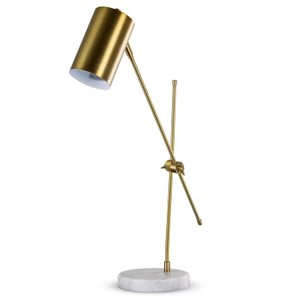 "Hewitt 23"" Desk Lamp Golden"