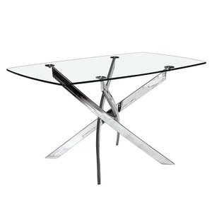 Coraline Glass Top Dining Table