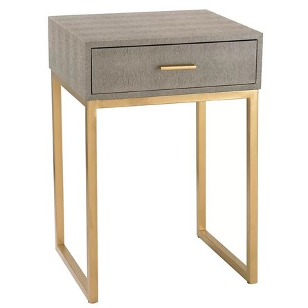 Roxanna End Table Gray
