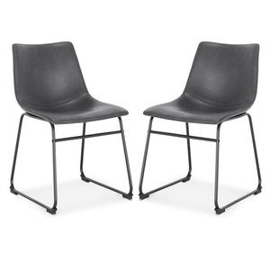 Brinley Dining Chair Gray (Set Of 2)