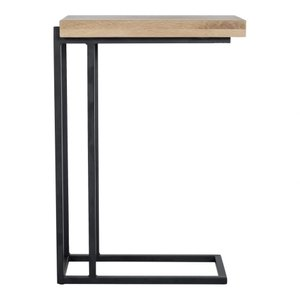 Mila C Shape Side Table Oak