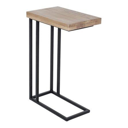 Mila C Shape Side Table Oak