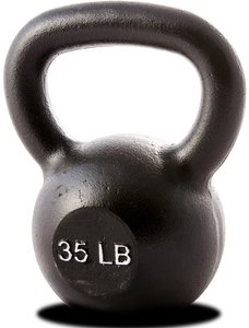Hercules 35 lb Kettlebell Black (Single Unit)