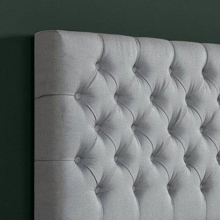 Jasper Upholstered Grand Button Tufted Platform Full Bed