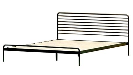 Henry Metal Sonnet Platform Full Bed Black