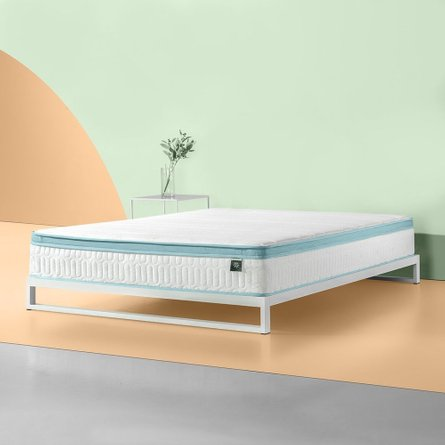 Zinus Foam Hybrid Spring King Mattress 10""