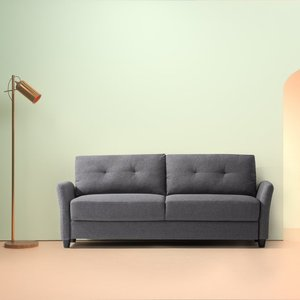Headley Contemporary Sofa Dark Gray