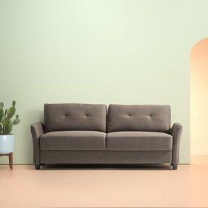 Headley Contemporary Sofa Chestnut Brown