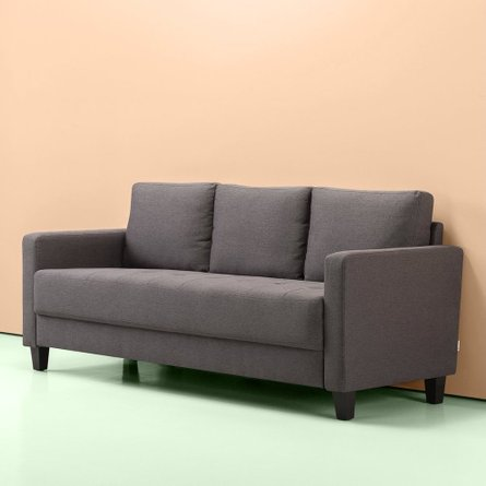 Mari Modern Sofa Steel Gray