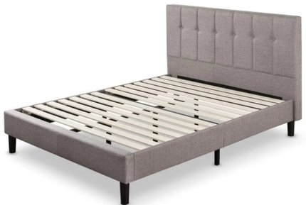 Brandy Platform Full Bed Gray