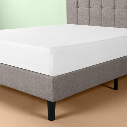 Brandy Platform Queen Bed Gray