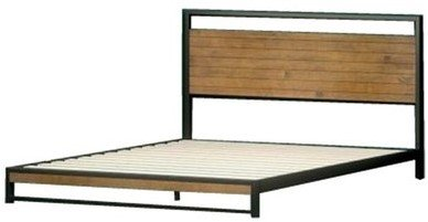 Suzanne Low Profile Platform Full Bed Frame Black