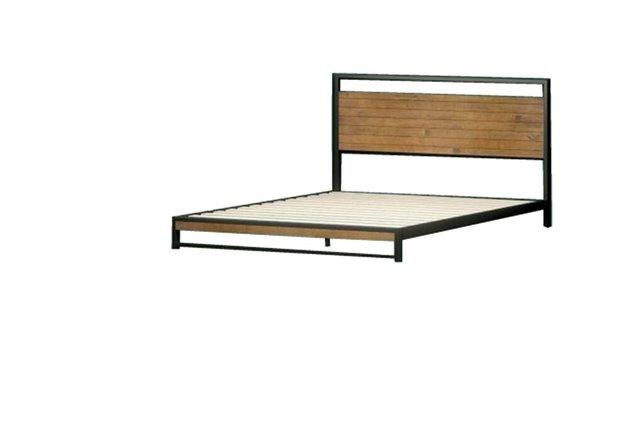 Suzanne Low Profile Platform Full Bed Frame Black