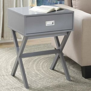 Cobb End Table With Storage Sea Foam