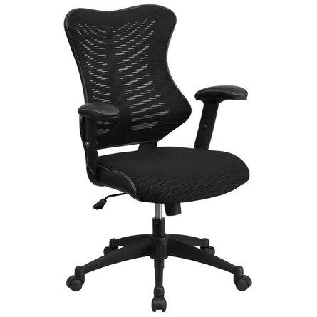 Bret Ergonomic Task Chair Black