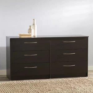 McEwan 6 Drawer Double Dresser Espresso