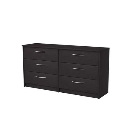 McEwan 6 Drawer Double Dresser Espresso