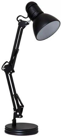 "James Swing Arm 28"" Desk Lamp Black"