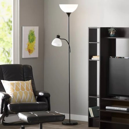 Norris Floor Lamp Black