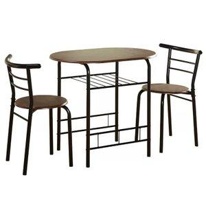 Verne Dining Set For 2 Black