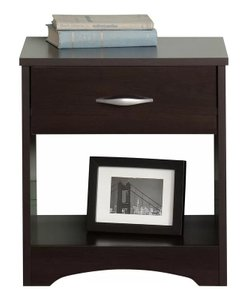 Dowson 1 Drawer Nightstand Cinnamon Cherry