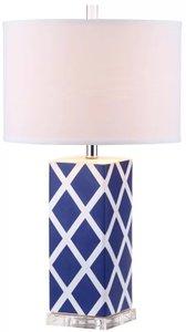 Kirk Table Lamp Navy (Set of 2)