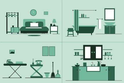 2-BR Houseware Bundle (197 Items)