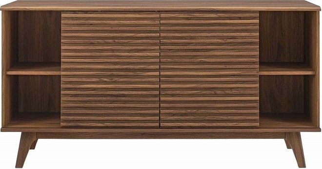 Render Sideboard Buffet Table Walnut