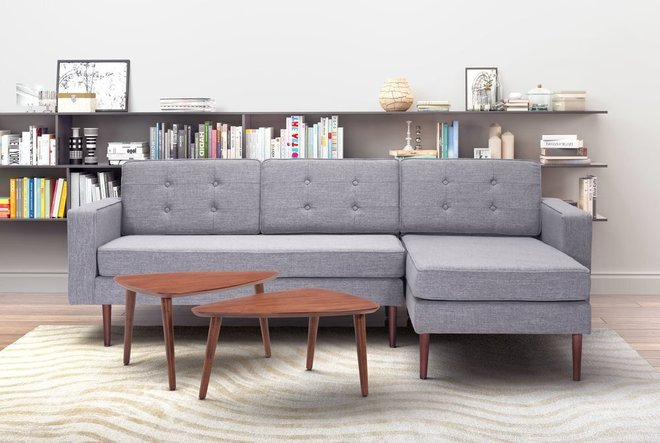 Puget Sectional Gray