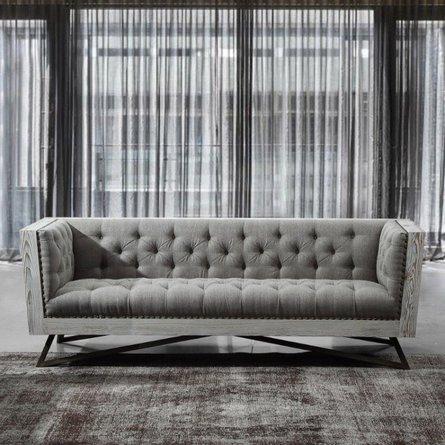 Alberto Contemporary Sofa Gray