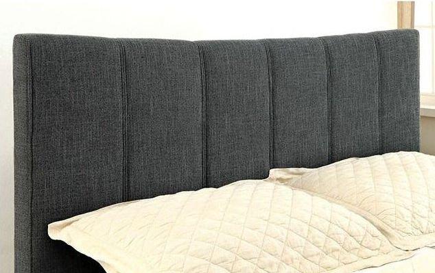 Ennis Queen Bed Dark Gray