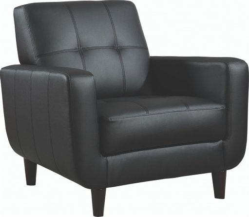 Casual Accent Chair Cappuccino