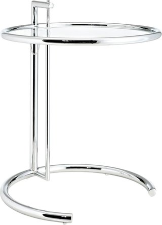 Eileen End Table Silver