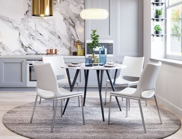 Ace Dining Chair White (Set of 2)